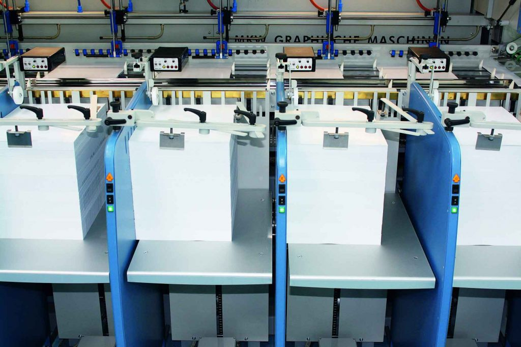 duplex collating machine