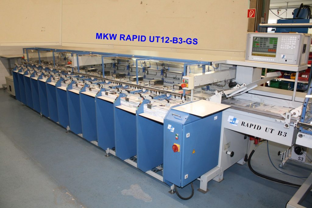 used mkw collator for sale
