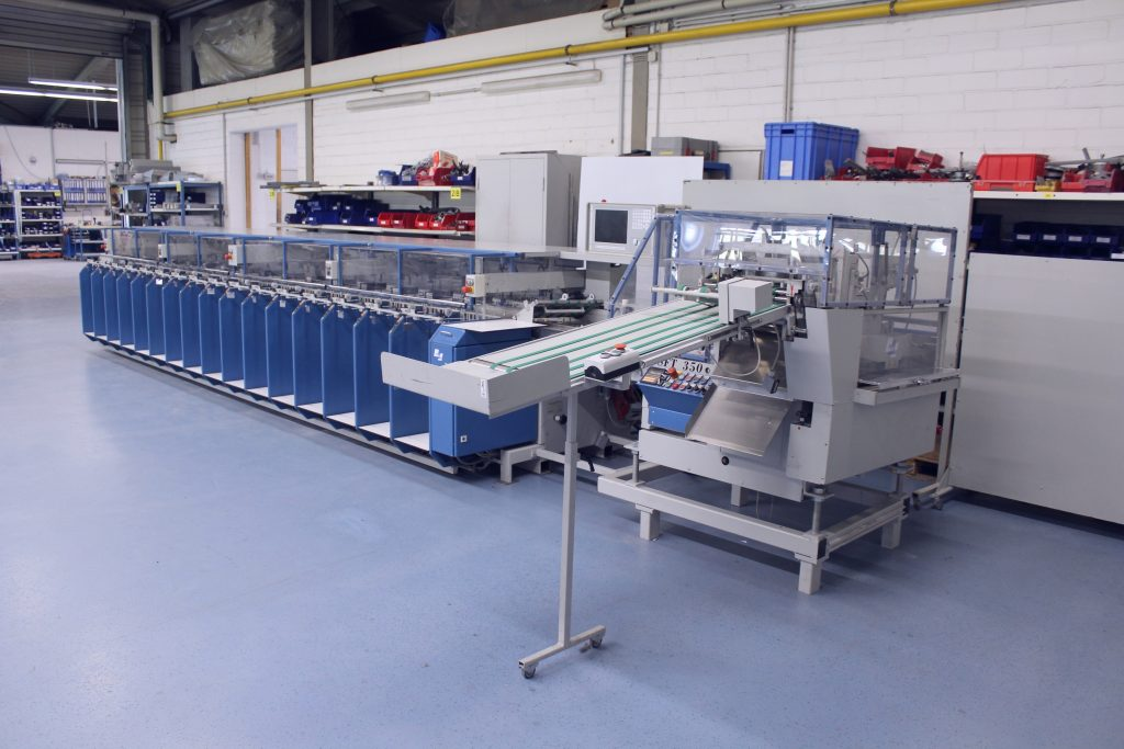 mkw collator, collating machine, col-ted, setmaster, theisen and bonitz